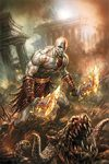 God of War Comic Cover