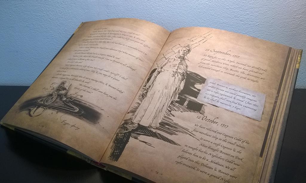 Blackbeard The Lost Journal 1