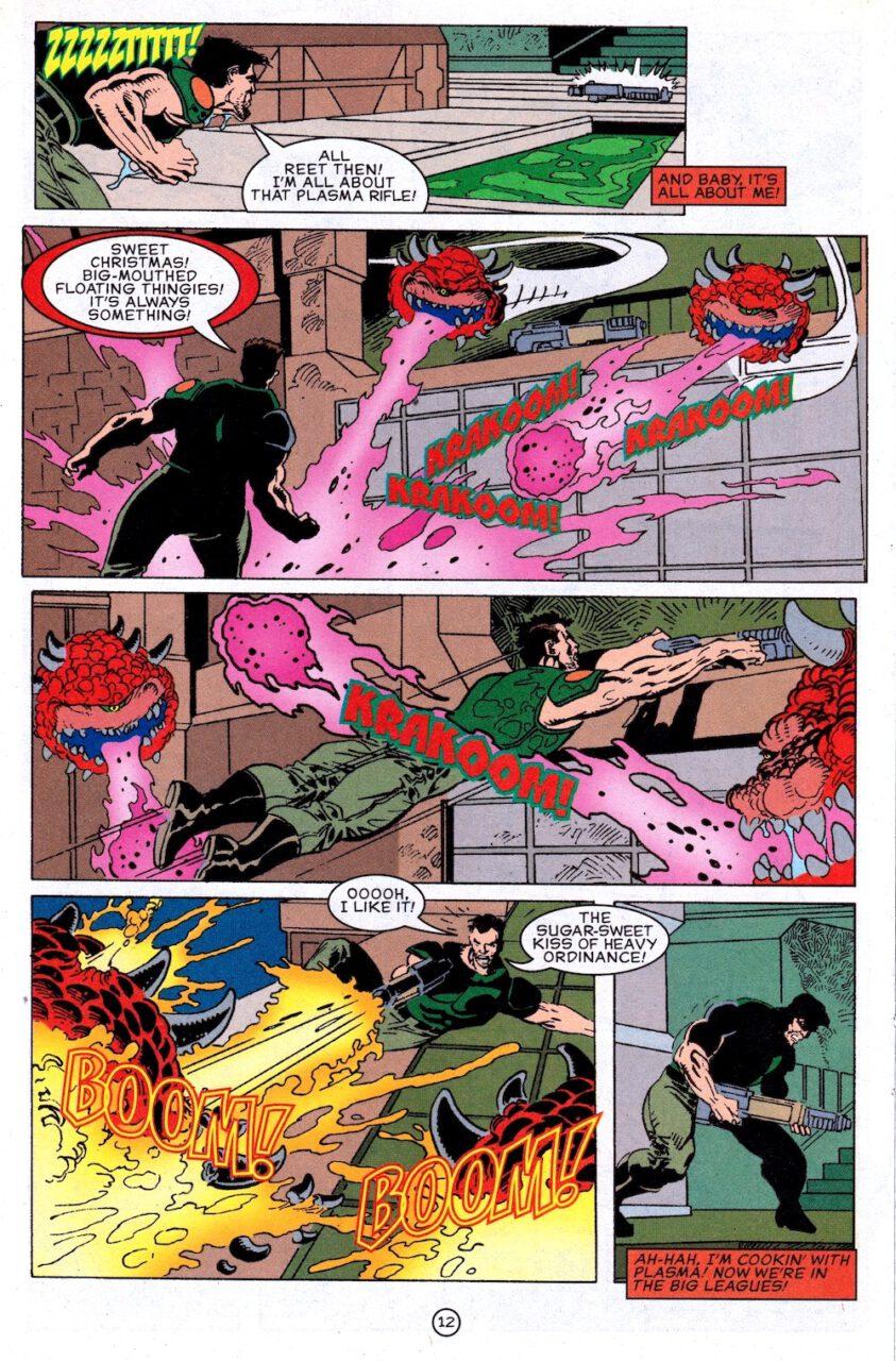 Comic Doom Knee Deep in the Dead Page 12