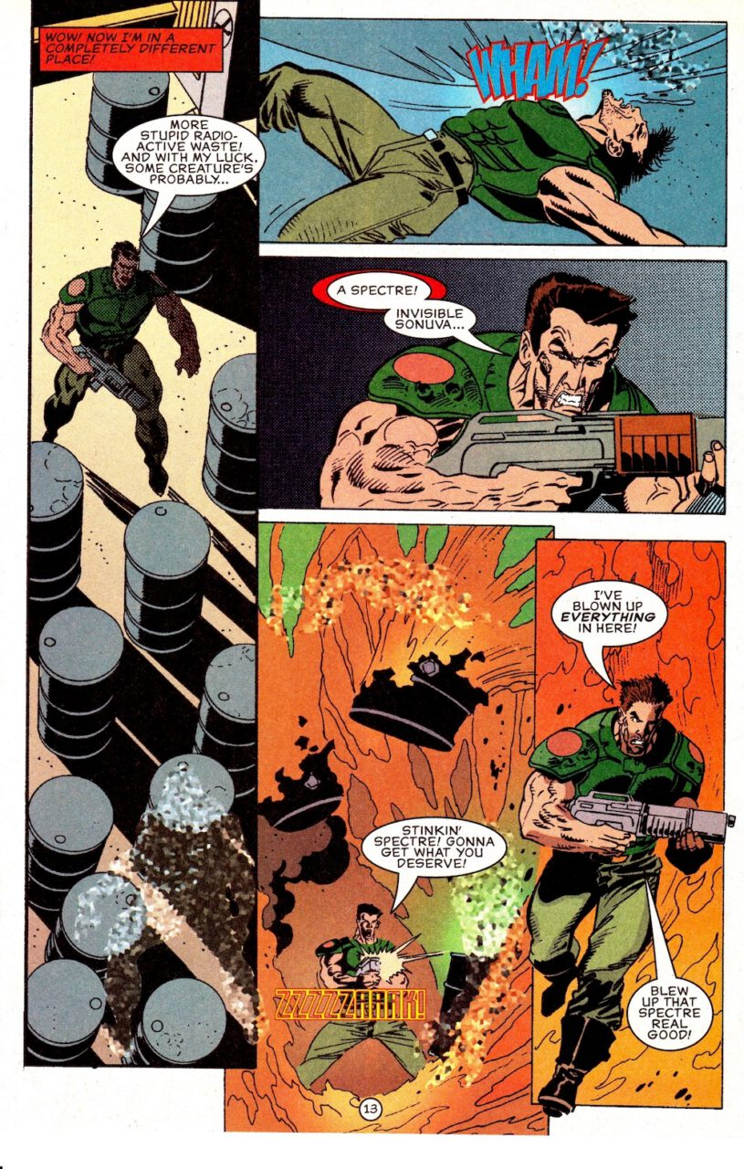 Comic Doom Knee Deep in the Dead Page 13