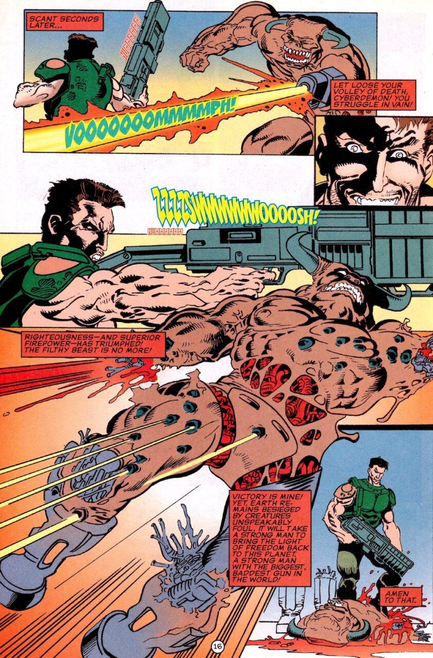 Comic Doom Knee Deep in the Dead Page 16