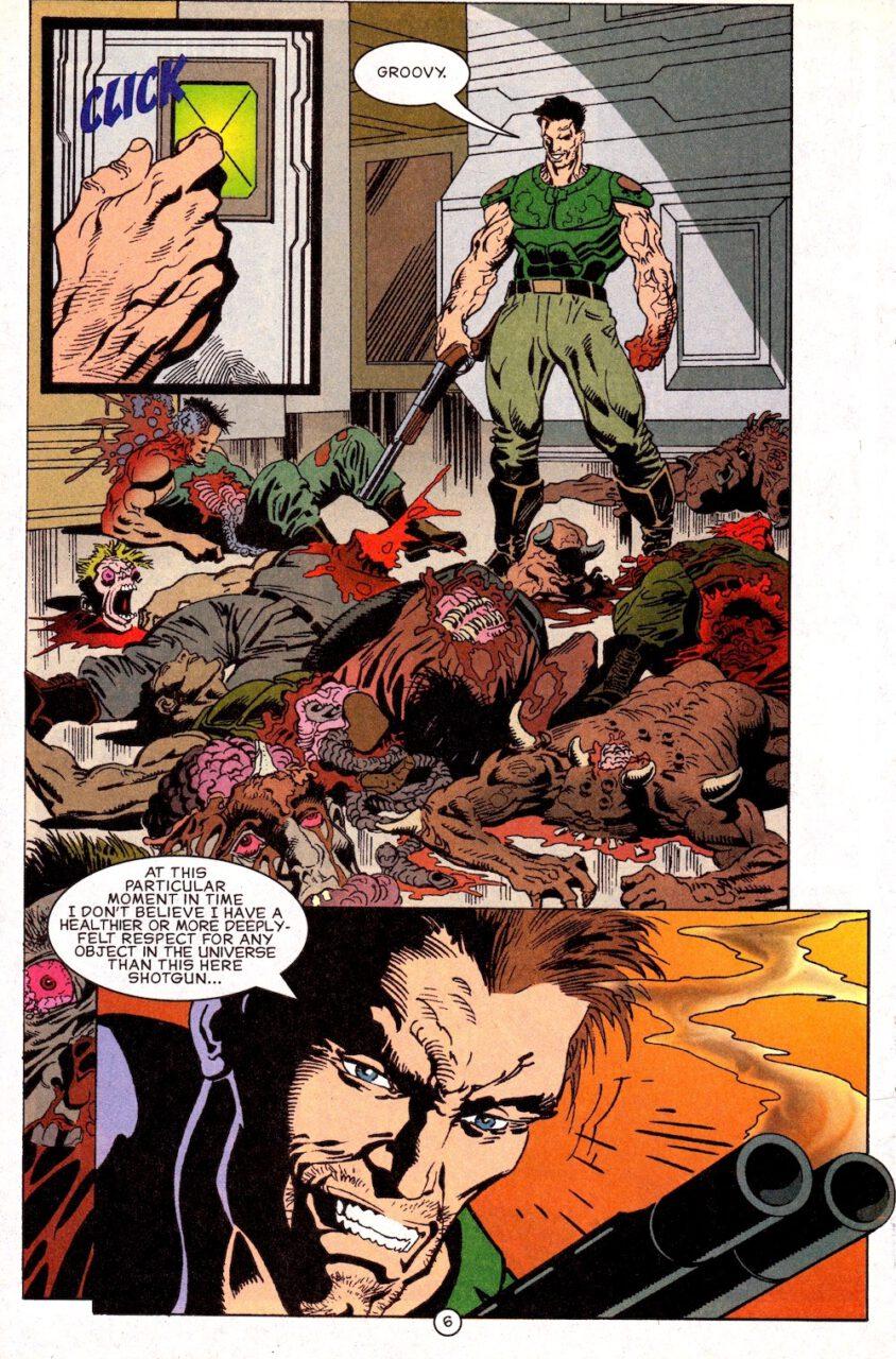 Comic Doom Knee Deep in the Dead Page 6