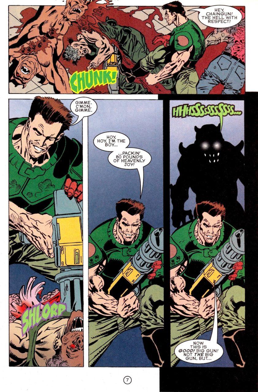 Comic Doom Knee Deep in the Dead Page 7