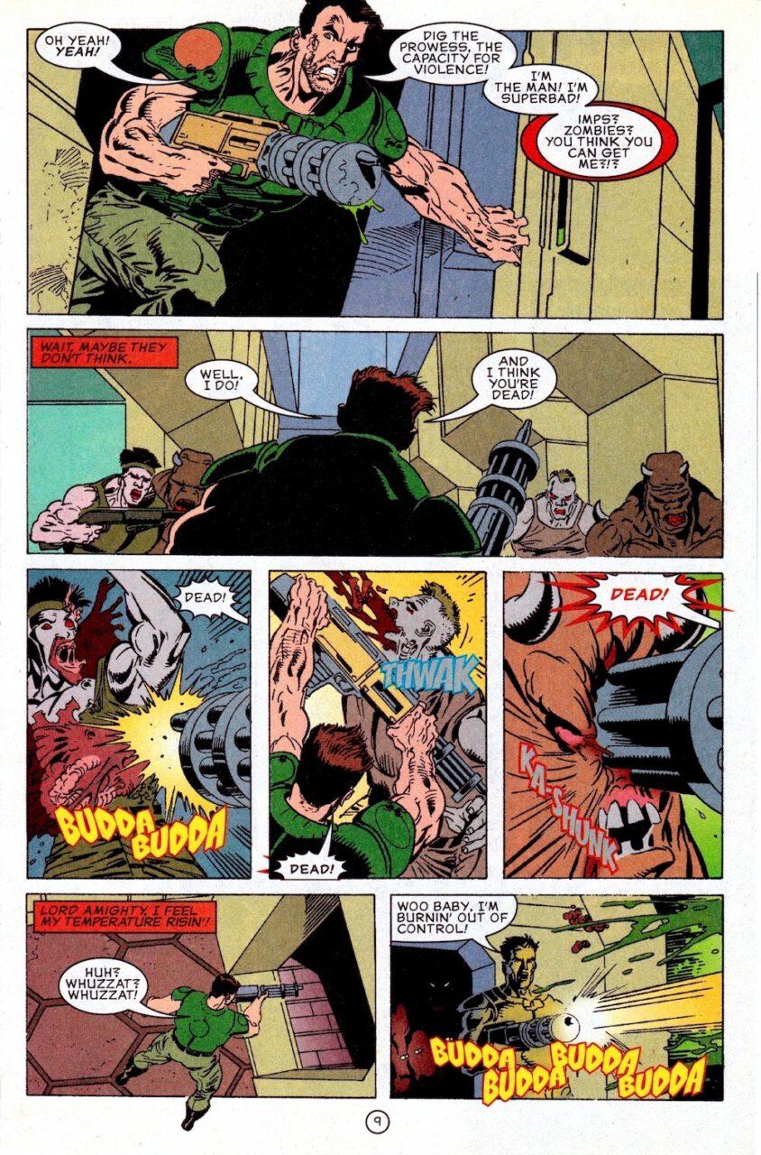 Comic Doom Knee Deep in the Dead Page 9