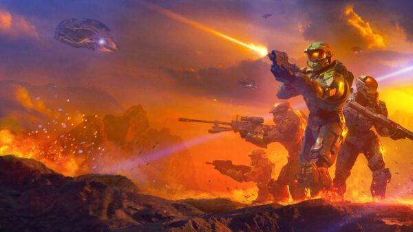 Halo Shadows of Reach
