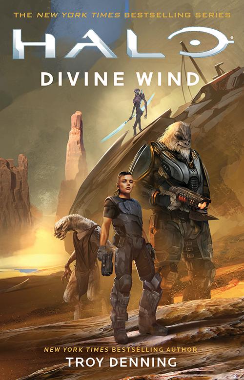 Halo Divine Wind cover