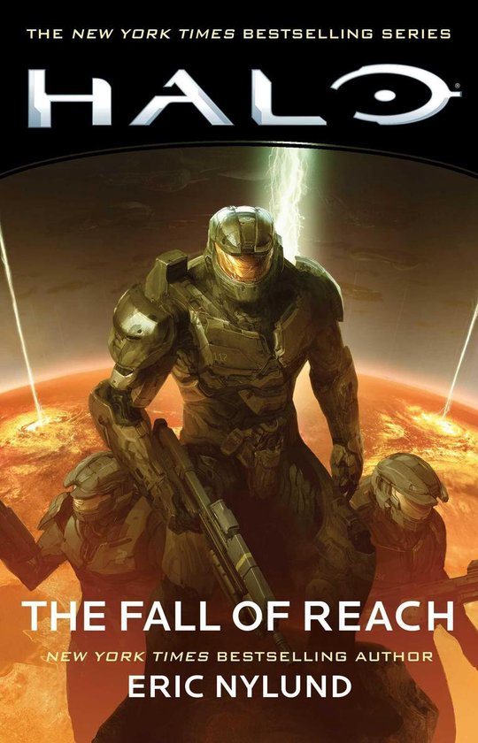 Halo The Fall of Reach cover