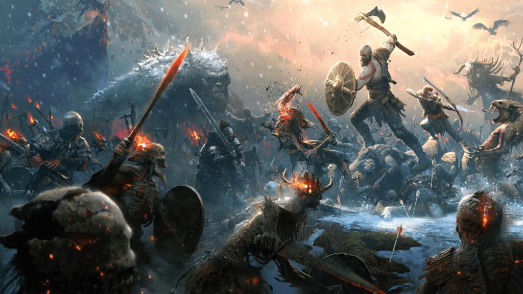 God of War Timeline Nordse mythology